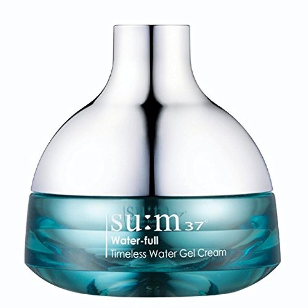 野望ラメ巡礼者su:m37/スム37° スム37 ウォーターフルタイムレスウォータージェルクリーム50ml (sum 37ºWater-full Timeless Water Gel Cream 50ml + Special Gift...