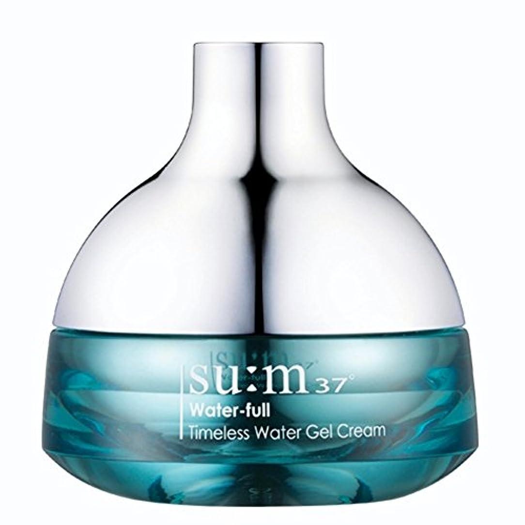 告白する感じる西部su:m37/スム37° スム37 ウォーターフルタイムレスウォータージェルクリーム50ml (sum 37ºWater-full Timeless Water Gel Cream 50ml + Special Gift...