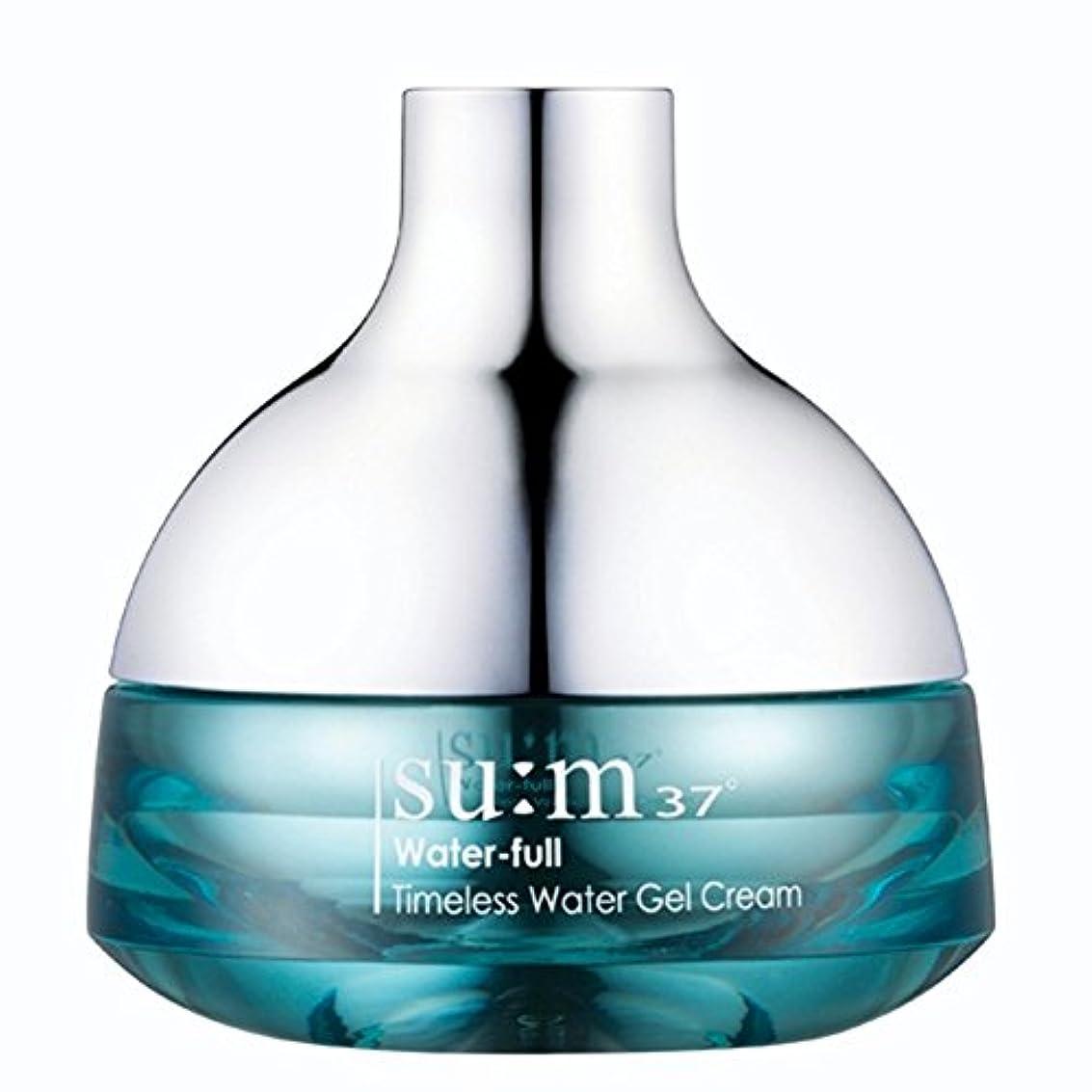 エスニックポスター害su:m37/スム37° スム37 ウォーターフルタイムレスウォータージェルクリーム50ml (sum 37ºWater-full Timeless Water Gel Cream 50ml + Special Gift...