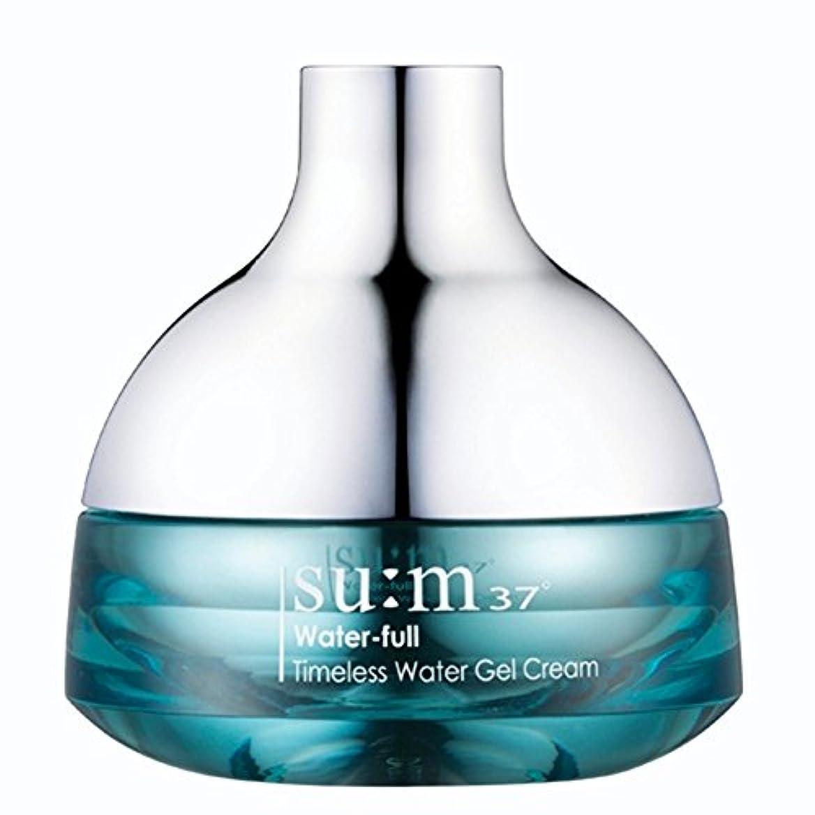国家形状夫婦su:m37/スム37° スム37 ウォーターフルタイムレスウォータージェルクリーム50ml (sum 37ºWater-full Timeless Water Gel Cream 50ml + Special Gift...