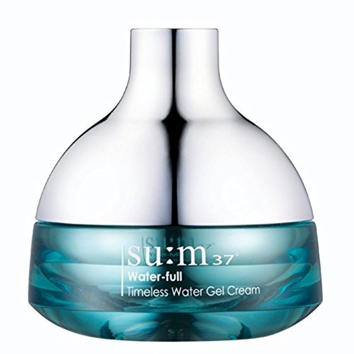 マチュピチュダブル無知su:m37/スム37° スム37 ウォーターフルタイムレスウォータージェルクリーム50ml (sum 37ºWater-full Timeless Water Gel Cream 50ml + Special Gift) スポット [海外直送品]