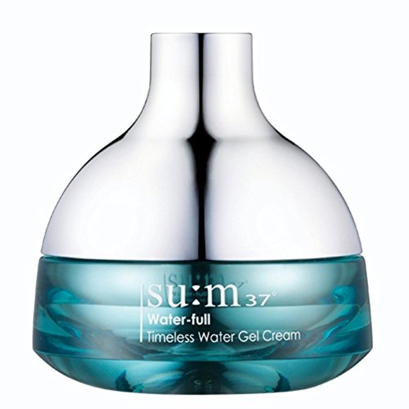 収入ハプニング規則性su:m37/スム37° スム37 ウォーターフルタイムレスウォータージェルクリーム50ml (sum 37ºWater-full Timeless Water Gel Cream 50ml + Special Gift...