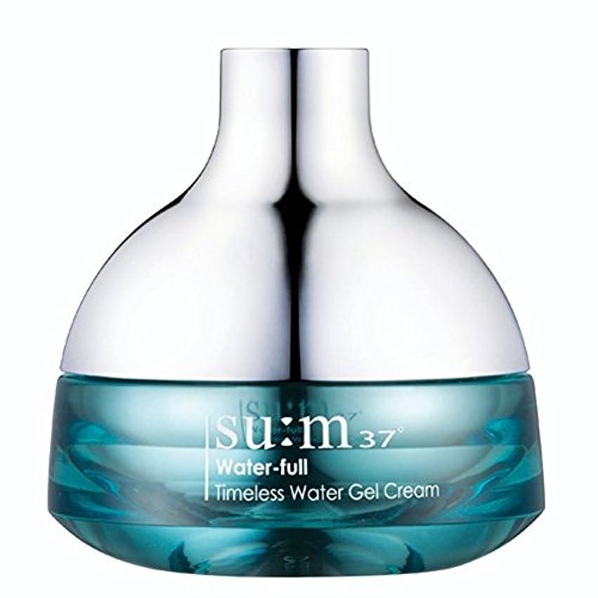 オーバーフローアンタゴニスト脊椎su:m37/スム37° スム37 ウォーターフルタイムレスウォータージェルクリーム50ml (sum 37ºWater-full Timeless Water Gel Cream 50ml + Special Gift...