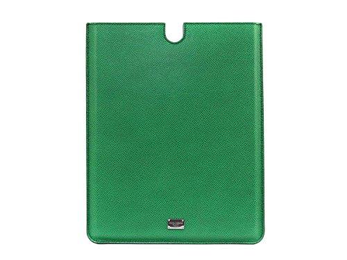 DOLCE&GABBANA ドルチェ&ガッバーナ iPadケース タブレットケース BP1666 A3G15 80538 グリーン 並行輸入品