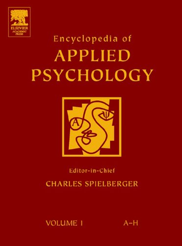 Encyclopedia of Applied Psychology (English Edition)