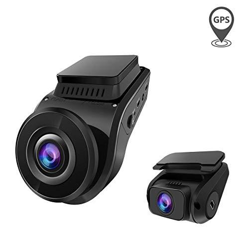 前後カメラ ドライブレコーダー VANTRUE S1 1080P フルHD GPS内蔵 SONYセンサー 24時間駐車監視 G-センサー 170°+160°超広角 2カメラ ドラレコ 夜間対応 星光暗視機能 ループ録画 HDR 常時録画 18ヶ月保証期間 日本信号機対応