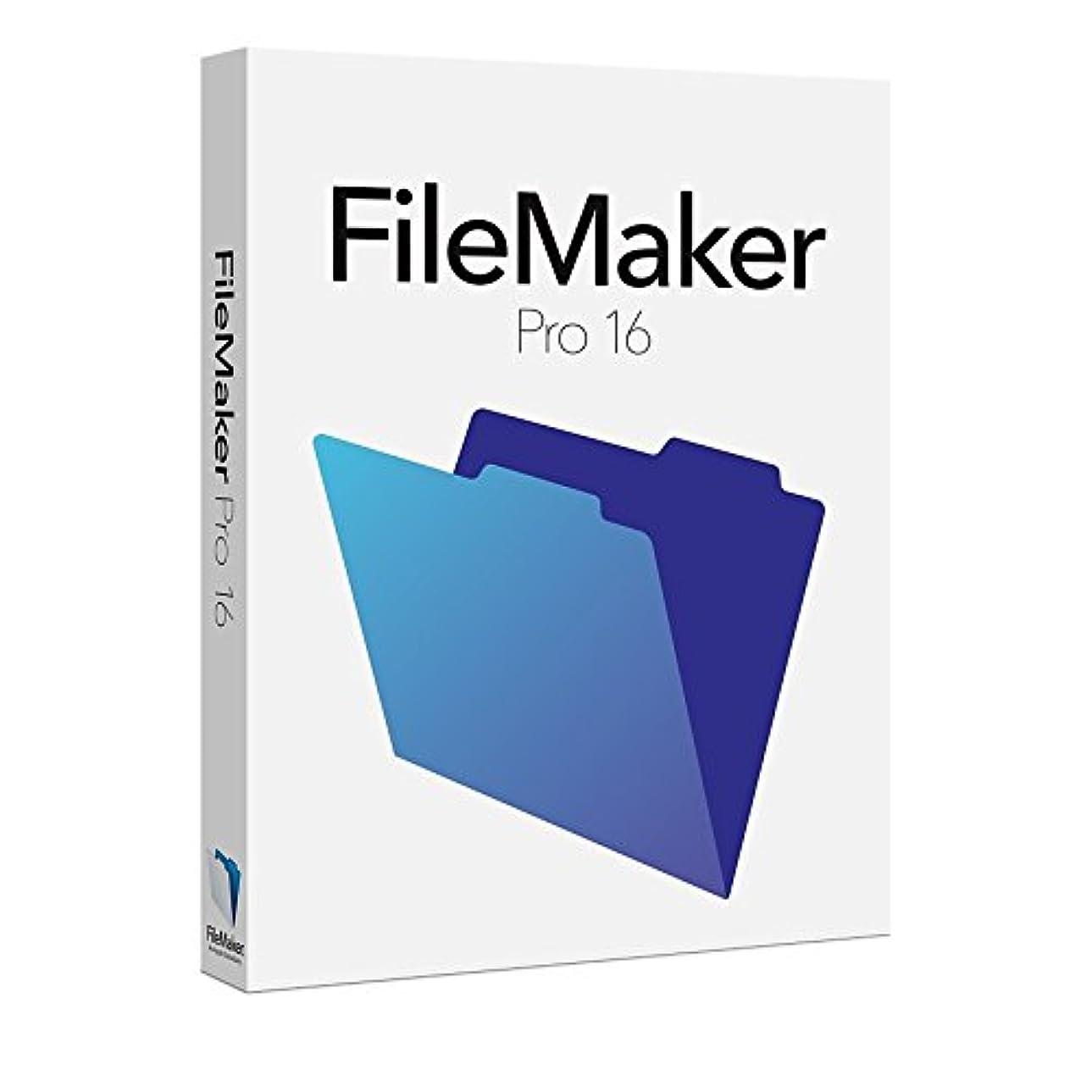 彫るめまい乳白色ファイルメーカー FileMaker Pro 16 Win&Mac 1User License
