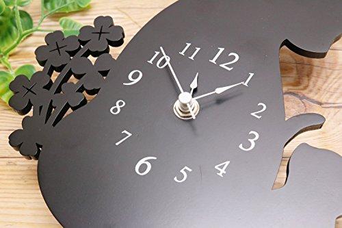 ヂャンティ商会 掛け時計 ネコ振り子時計