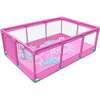 ベビープレイペン 大型子供用フェンス屋内ベビーセーフティ幼児保護3色オプション (色 : Style3)
