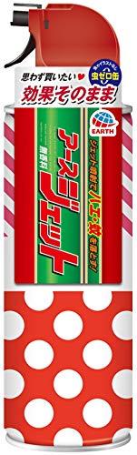 【防除用医薬部外品】 アース製薬 アースジェット 殺虫剤 スプレー 無香料 スペシャルデザイン 450ml