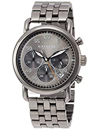 [コーチ]COACH 腕時計 デランシークロノグラフ グレー文字盤 クォーツ 14602375 メンズ 【並行輸入品】