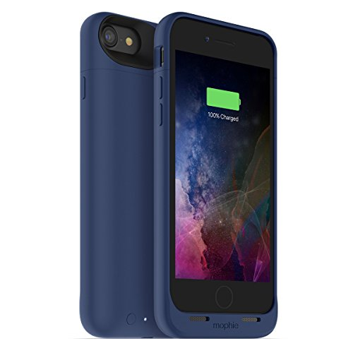 mophie juice pack air for iPhone 7 ワイヤレス充電機能付き バッテリーケース ブルー日本正規代理店品 MOP-PH-000149
