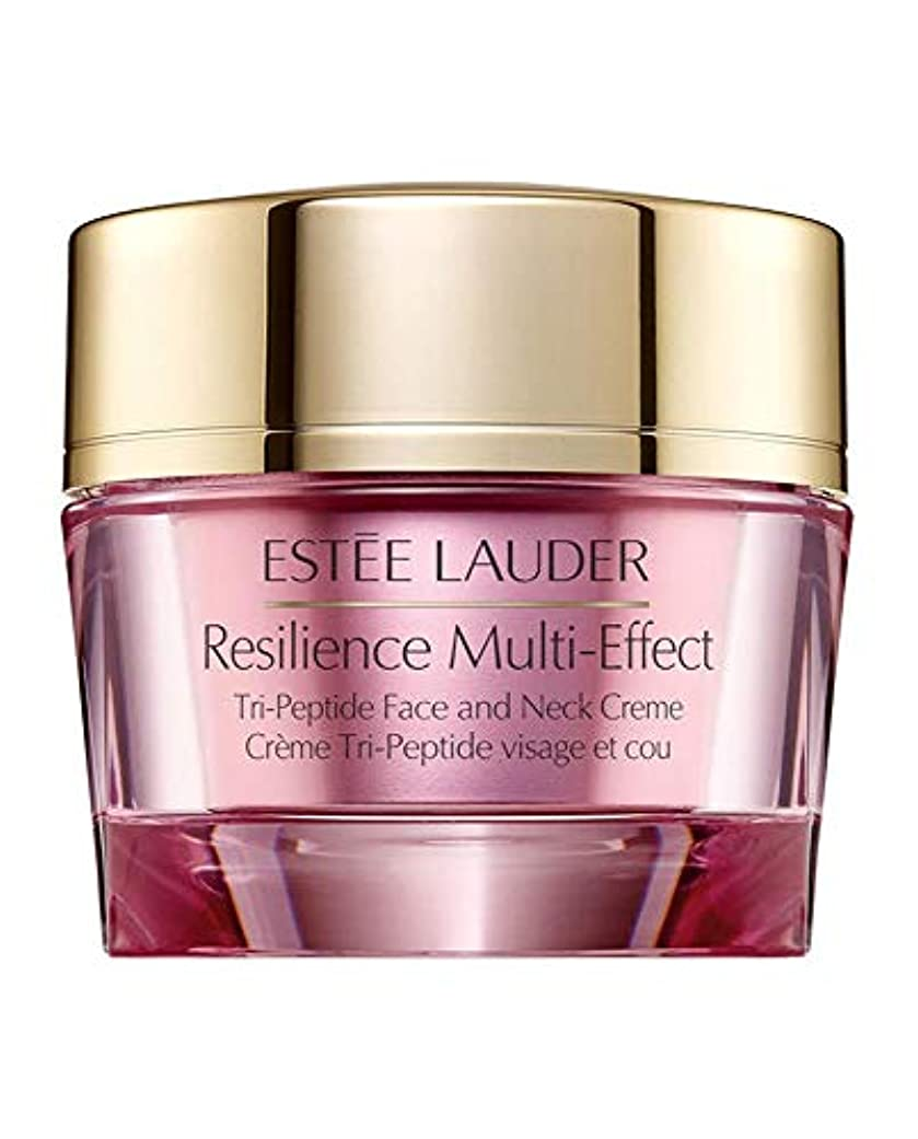 価値のない揺れる丈夫エスティローダー Resilience Multi-Effect Tri-Peptide Face and Neck Creme SPF 15 - For Normal/Combination Skin 50ml/1.7oz...