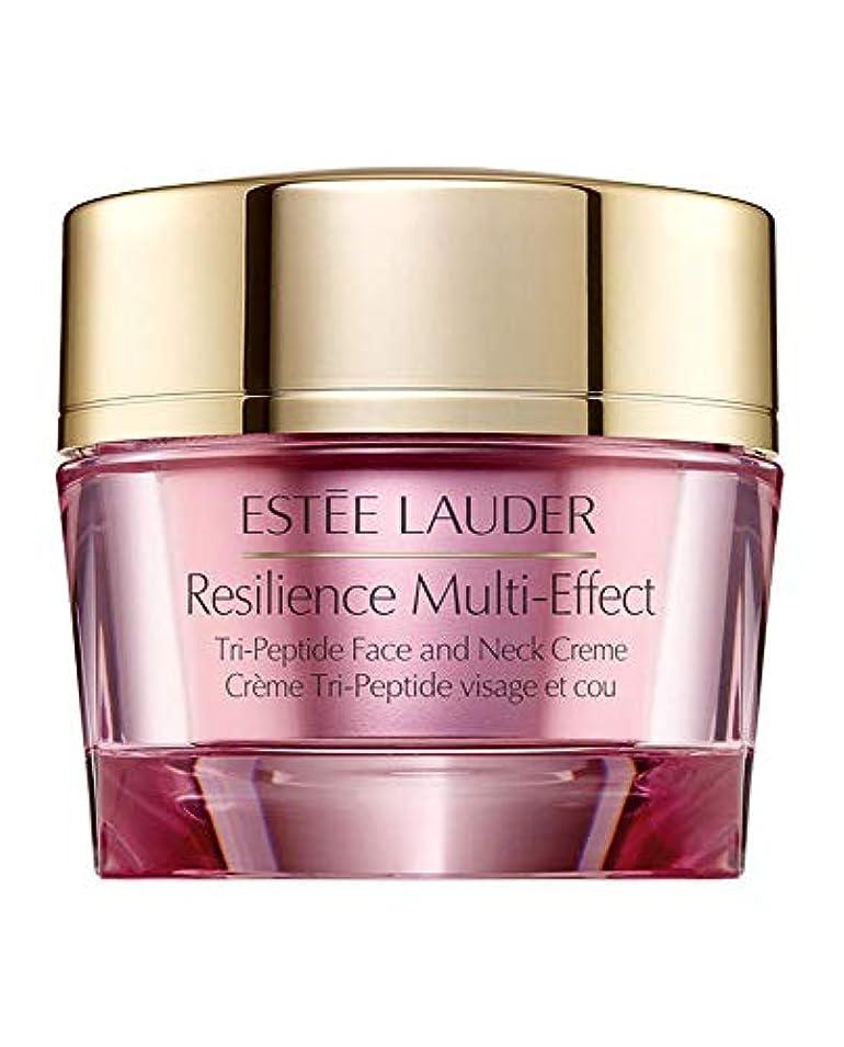 黒くする枢機卿祖母エスティローダー Resilience Multi-Effect Tri-Peptide Face and Neck Creme SPF 15 - For Normal/Combination Skin 50ml/1.7oz...