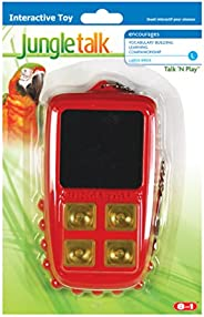 Jungle Talk N Play Interactive Noise Toy Large for Birds