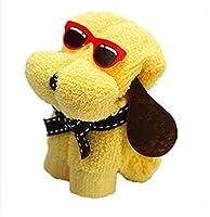 SJT小さなタオル子犬スタイルのタオル30×30cmタオルキュートな子犬タオルタオル