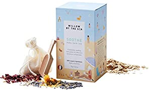 Soothe Baby Bath Tea - 100% Certified Organic Baby Body Wash, The Perfect Alternative to Soap, by Willow by the Sea