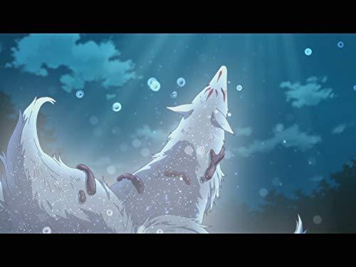 月の夜の銀の獣。