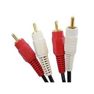 フジパーツ オーディオケーブル 2ピン-2ピン 1m FVC-335