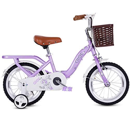 2~10歳の子供用自転車、キッズバイク、女の子用ペダル三輪車...