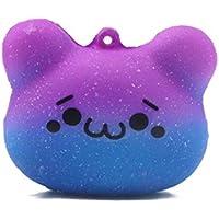 dacawinホット販売Squishy Kawaii Cute Bear絵文字Slow Rising Squeeze ToyコレクションCureギフト 1PCS Da-0808666