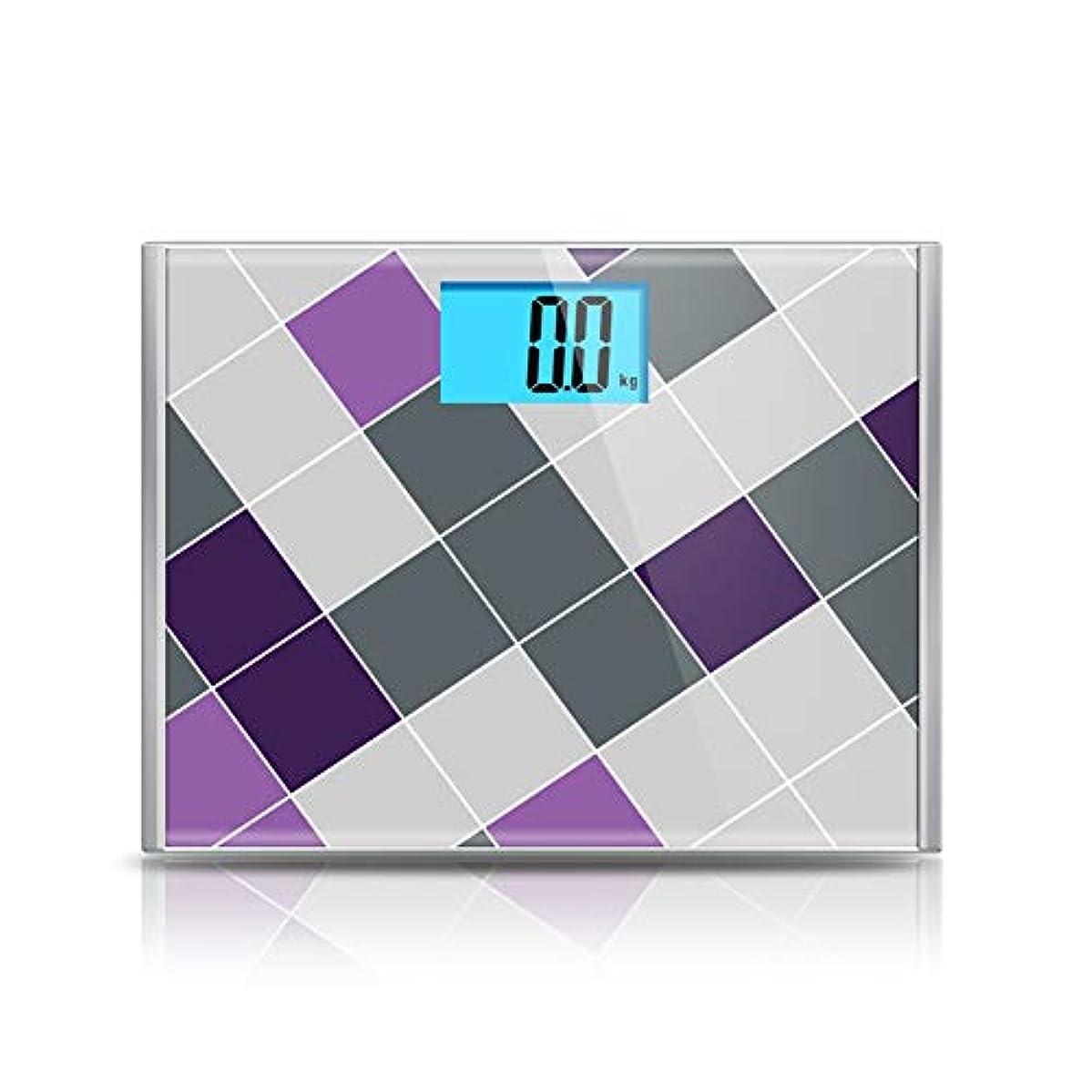 つづり怠惰稚魚床科学的なスマート電子体脂肪スケール大規模正確な計量LEDデジタル重量 - 15.4 x 11.8 x 1インチ