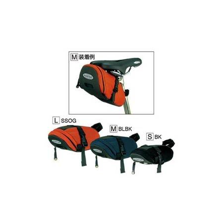モンベル(montbell) サドルパック M ブラック(BK) 1L 1130180