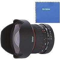 Vivitar 8mm Ultra Wide f/3.5 HD Aspherical Fisheye Fixed Lens for Nikon D3000, D3100, D3200, D3300, D5000, D5100, D5200, D5300, D7000, D7100, D40, D40x, D50, D60, D70, D70s, D80, D90, D100, D200, & D300 Digital SLR Cameras [並行輸入品]