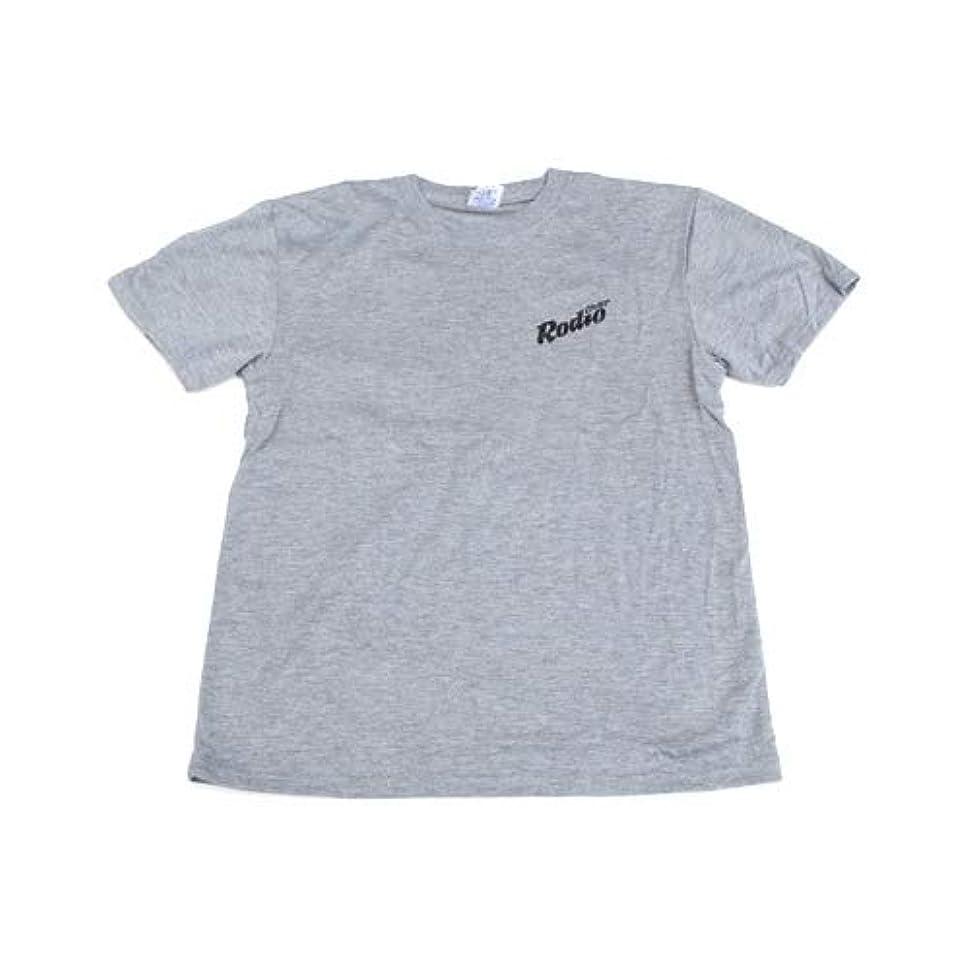 Rodiocraft(ロデオクラフト) 6.5オンス Tシャツ ヘザーグレー/ブラック L