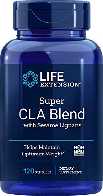 行き当たりばったり列車引く海外直送品Super CLA Blend, 1000 mg, Sesame Lignans 120 softgels by Life Extension