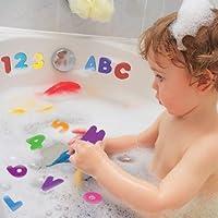 子供 キッズ お風呂 おもちゃ 数字 アルファベット 楽しく 学習 男の子 女の子 タイル ガラス くっ付く