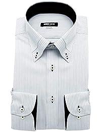 (ミチコロンドン) MICHIKO LONDON 形態安定 ワイシャツ 2018秋冬モデル スリム 抗菌防臭 長袖 綿高率 Yシャツ