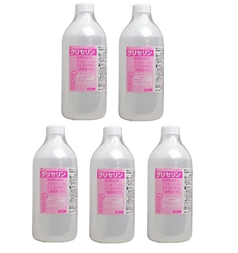 常に可能にするライフル【セット品】大洋製薬 グリセリン 500mL 指定医薬部外品 (5本)
