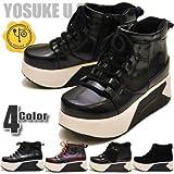 YOSUKE U.S.A ヨースケ 厚底ブーツ レースアップブーツ ショートブーツ 厚底スニーカーブーツ