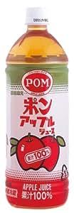 ポン アップルジュース 1L×6本