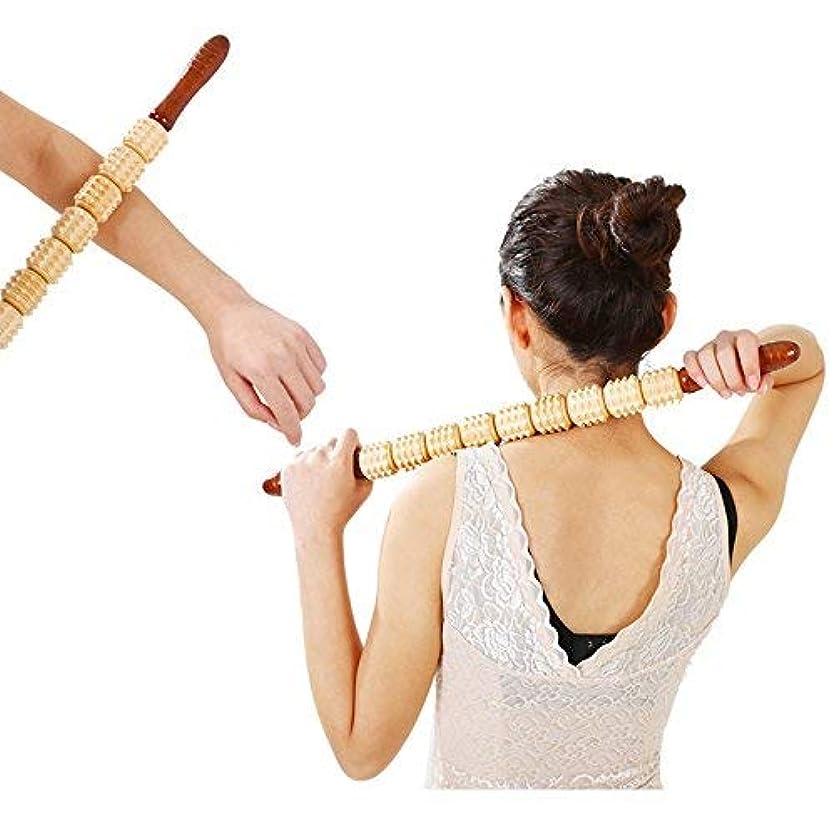 使用法正しい責Umora マッサージ棒 マッサージローラー スティック ヨガポール セルフマッサージ 筋膜リリース ローリング 血液循環 トレーニング リラックス