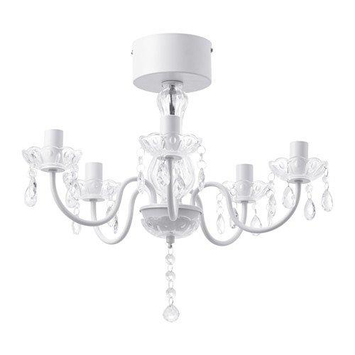 RoomClip商品情報 - IKEA(イケア) FYRTIO シャンデリア 5アーム, ホワイト (90312889)