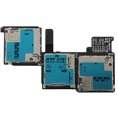 携帯電話の交換部品 サムスンギャラクシーS4 / i959 / i9502用SIMカードスロットフレックスケーブル