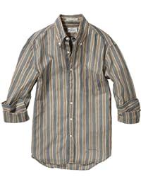 (ガント ラガー) GANT Rugger Vegetable Dye Madras E-Z Original Button Down(ベジタブル ディ マドラスE-Zオリジナルボタンダウン) ストライプ ボタンダウンシャツ [並行輸入品]