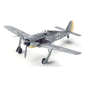 タミヤ 1/72 ウォーバードコレクション No.66 ドイツ空軍 フォッケウルフ Fw190 A-3 プラモデル 60766