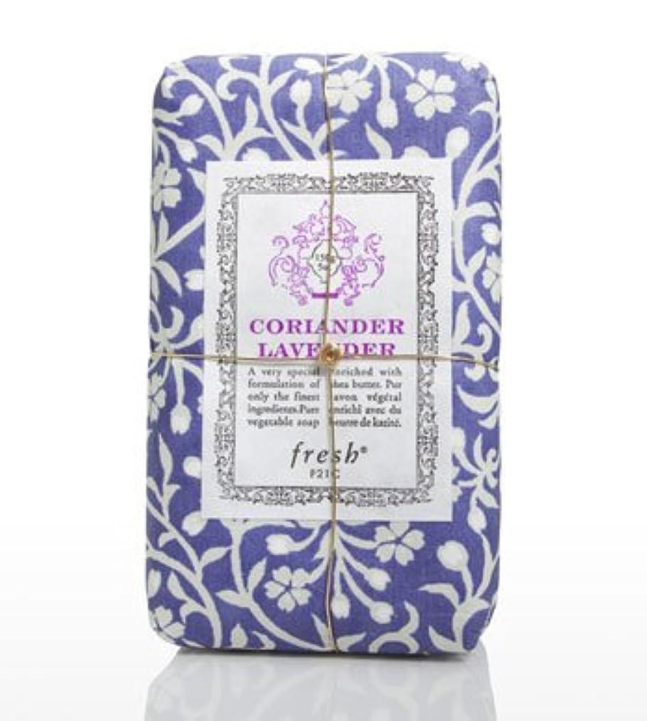決済カルシウム補正Fresh CORIANDER LAVENDAR SOAP(フレッシュ コリアンダーラベンダー ソープ) 5.0 oz (150gl) 石鹸 by Fresh