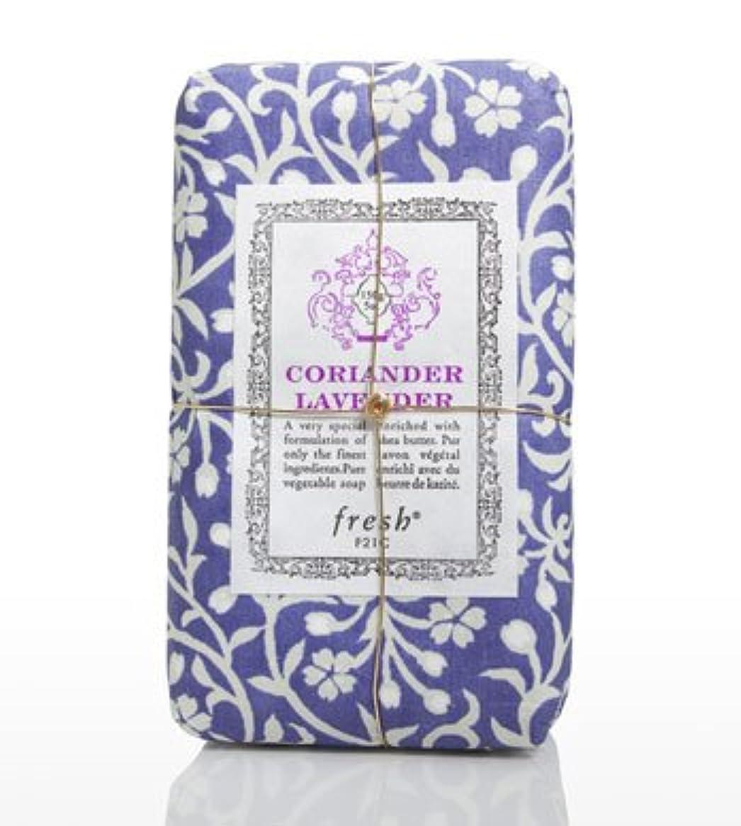 ようこそ寄付する他のバンドでFresh CORIANDER LAVENDAR SOAP(フレッシュ コリアンダーラベンダー ソープ) 5.0 oz (150gl) 石鹸 by Fresh