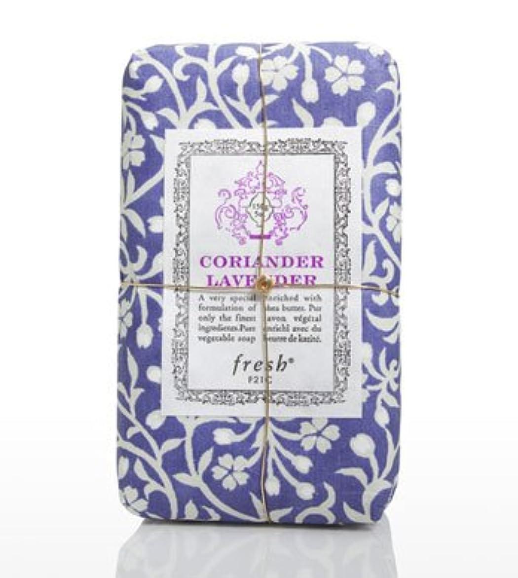 議会大使立方体Fresh CORIANDER LAVENDAR SOAP(フレッシュ コリアンダーラベンダー ソープ) 5.0 oz (150gl) 石鹸 by Fresh