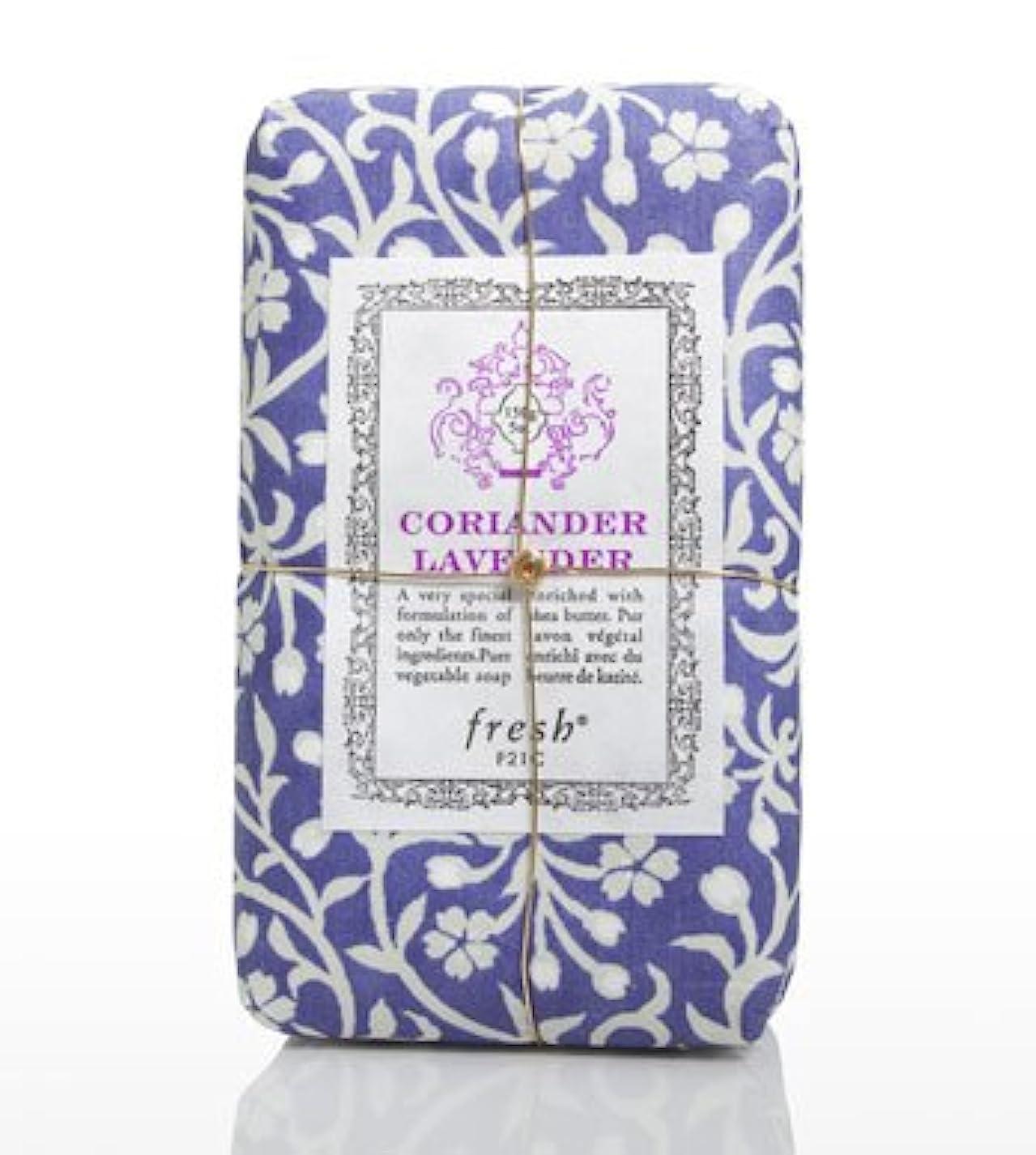 書士素晴らしきマーケティングFresh CORIANDER LAVENDAR SOAP(フレッシュ コリアンダーラベンダー ソープ) 5.0 oz (150gl) 石鹸 by Fresh