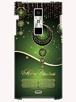 KYY21 ケース カバー URBANO L01 au クリスマス ラグジーイニシャルK