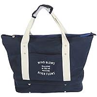 防水 多機能 旅行 バッグ 靴収納 二段式 大容量 キャリーオンバッグ