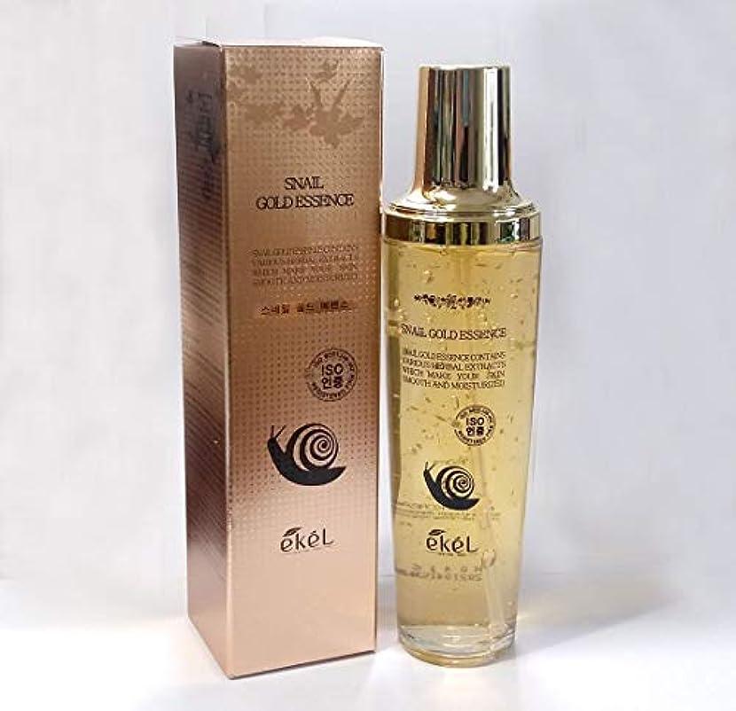 抵抗力がある通行人光電[EKEL] ゴールドエッセンス150ml /ハーブエキス/スムーズ&モイスチャライド/韓国化粧品 / Gold Essence 150ml / Herbal Extracts / Smooth & Moisturized / Korean Cosmetics [並行輸入品]