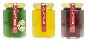 南国食楽Zu 宮古島ジャム 3種セット (ゴーヤー、マンゴー、ドラゴンフルーツ 150g各1本)