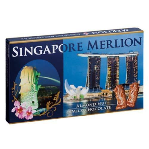 マーライオン アーモンド チョコレート 1箱【シンガポール 海外土産 輸入食品 スイーツ 】