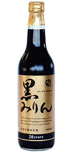 甘強酒造 弐拾年熟成貯蔵 黒みりん 瓶 600ml